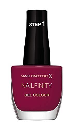 Max Factor Smalto Unghie Nailfinity Gel Colour, Smalto a Lunga Tenuta Effetto Gel, 330 Max's Muse