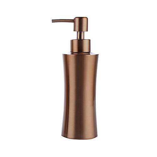 oobest 400 ml/250Ml Or Rose en Acier Inoxydable Distributeur de Savon Liquide et Pompe Bouteille de Lotion pour Cuisine Salle de Bain