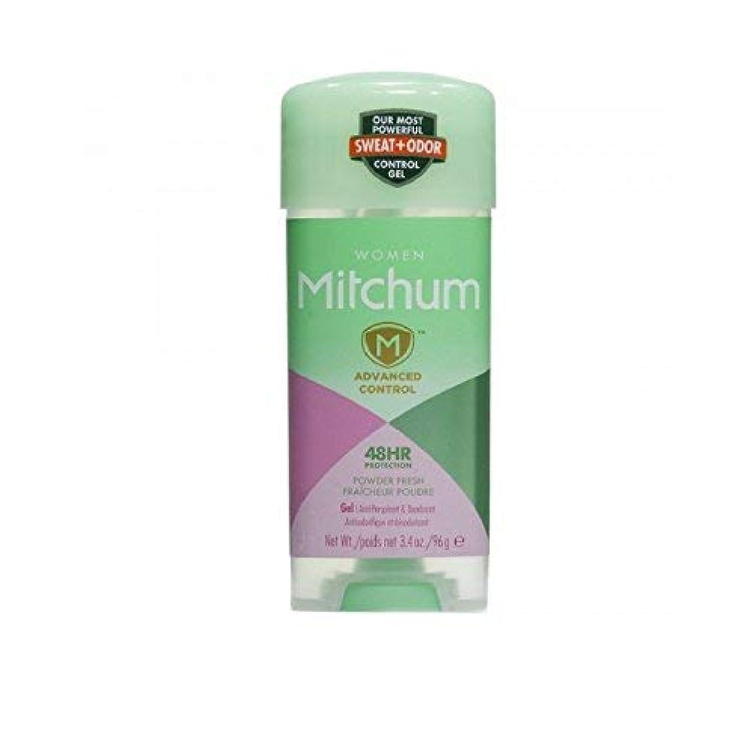 ネクタイコレクション徴収Mitchum 女性の高度な制御制汗デオドラントクリアジェルのために、新鮮な3.4オンスシャワー(5パック) 5パック