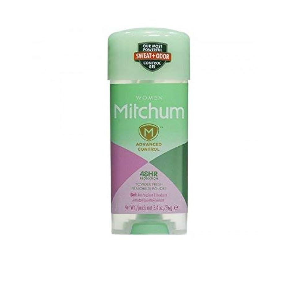 レクリエーション発生封建Mitchum 女性の高度な制御制汗デオドラントクリアジェルのために、新鮮な3.4オンスシャワー(5パック) 5パック