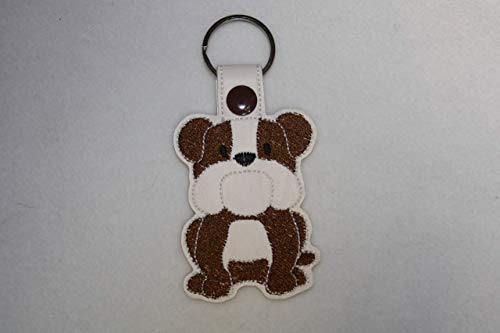 Schlüsselanhänger Englische Bulldogge
