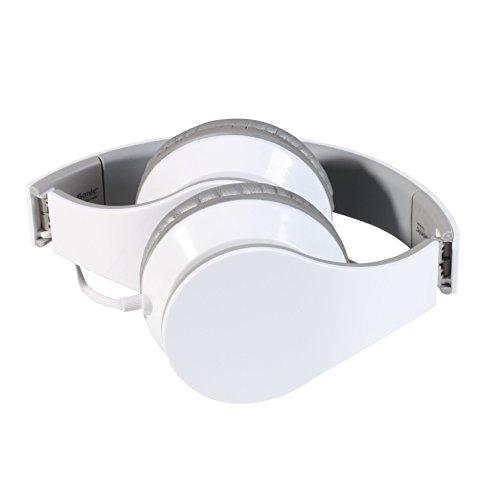 Clip Sonic Technology TEC569W Casque stéréo Hi-FI avec Micro intégré Blanc