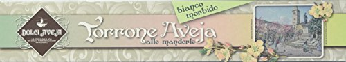 Dolci Aveja - Torrone Bianco Tenero Alle Mandorle - 3 Pezzi da 180 gr
