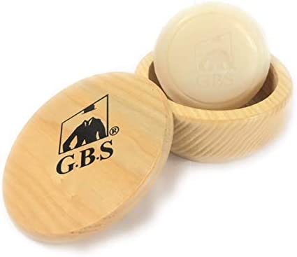 GBS Natural Beech Wood Shaving Soap with OFFicial shop Bowl Lid Directly managed store Cover Cup Dr
