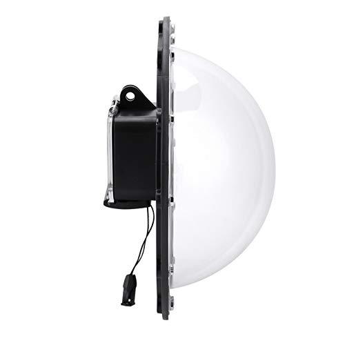 minifinker Estuche con Puerto Domo Resistente al Agua Fácil de Usar, para cámara GoPro Hero 5/6/7