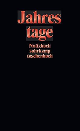 Notizbuch suhrkamp taschenbuch: Jahrestage