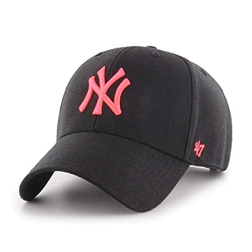 47 New York Yankees Adjustable Snapback Cap MVP MLB Black/Pink - One-Size