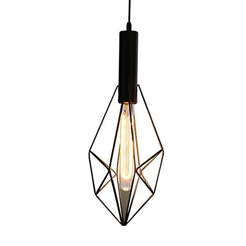 Lámpallas, Iluminación De Techo, Araña De Hierro Forjado (E27) Adecuado Para Un Accesorio De Iluminación Moderno En La Sala De Estar, Comedor, Dormitorio, Pasillo (Color : Style1)