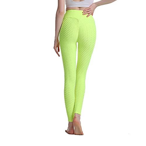 N\P Pantalones de yoga para mujer cintura alta deportes fitness