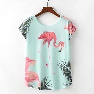 Flamingo Woman T Shirt