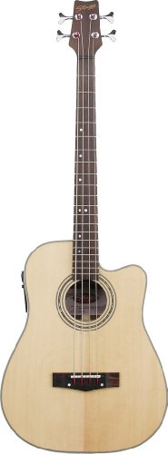 Stagg AB203CE-NS Electro-Acoustic Cutaway Bass Guitar