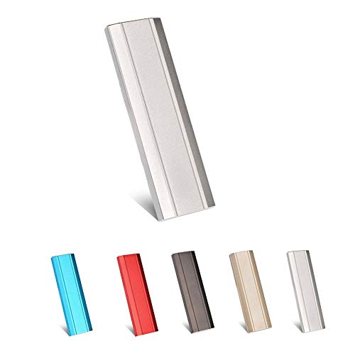 Hard disk esterno da 1 TB USB 3.1 per PC, Mac, PC, PC, computer portatile, Chromebook, Xbox 360 (Silver-2TB)