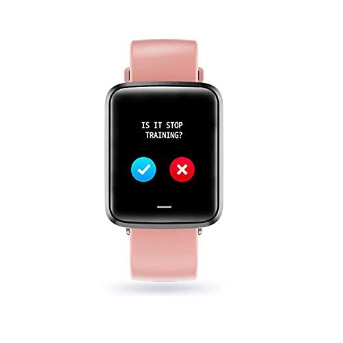 LITINGT Pulsera de fitness, reloj de fitness con monitor de frecuencia cardíaca, podómetro IP67 impermeable con contador de calorías, cronómetro, rastreador de actividad para mujeres y hombres