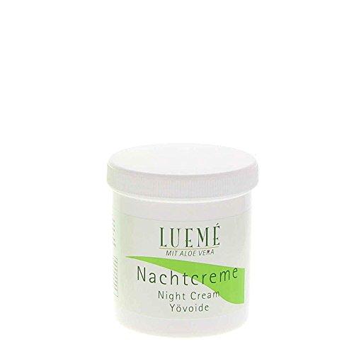Lueme Nachtcreme mit Aloe Vera Feuchtigkeit spendende Nachtpflege, 270 ml