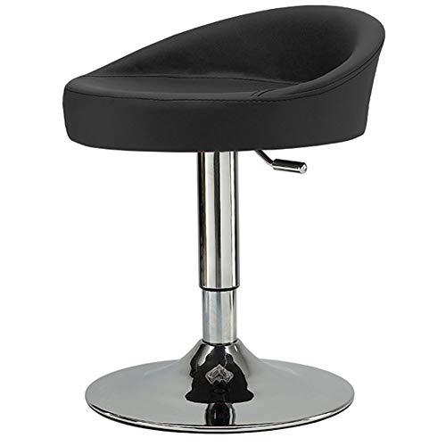 WEIYV- Stühle,Dreh- & Arbeitshocker, Einfach, Modern, Mode, Heben, Drehen, Bar, Barhocker, Empfang, Empfang, Büro, Besprechungsstuhl, Kaffeestuhl (Farbe : Schwarz, größe : 40-60cm)