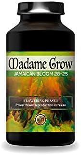 MADAME GROW ?????????? 500 ml ???? Mejor Fertilizante floración Cannabis 4??2??0?? Abono orgánico floración ???? Jamaican Bloom 28-25 Concentrado de Fósforo, Potasio y molibdeno