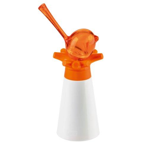 Koziol Gewürzmühle mit Pfeffer/Salzstreuer, Orange