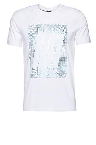 BOSS Athleisure Herren T-Shirt Tee 4 Weiß L
