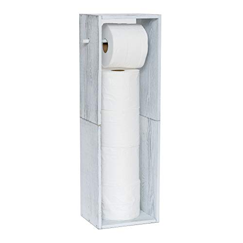Top 10 best selling list for toilet paper holder wood standing