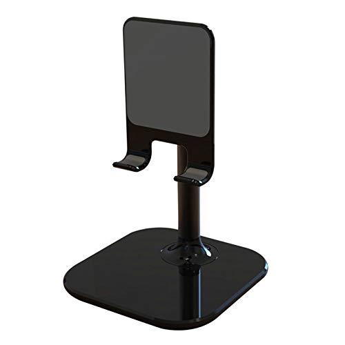 Soporte para Teléfono De Escritorio Soporte De Elevación Soporte para Tablet Pc 120 mm * 255 mm Negro