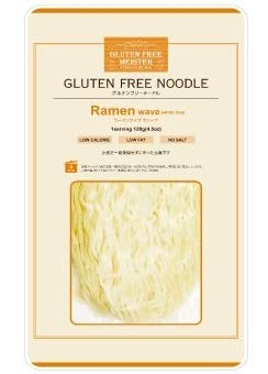 【小林生麺】グルテンフリーフリーヌードル ラーメン ウェーブ(お米のラーメン・ウェーブあり 日持ちタイプ)
