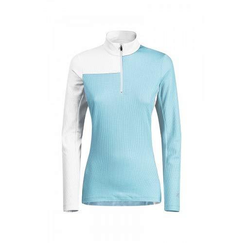 Montura THERMIC Syncro T-Shirt en Polaire pour Femme S Ice Blue/Bianco