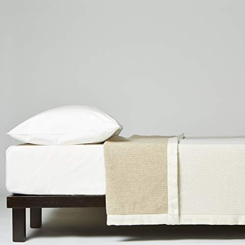 Decke Bett Doppelbett Lanerossi Artikel Waldhütte cm. 230 x 270 Zusammensetzung 95% lana-vergine 5% Kaschmir