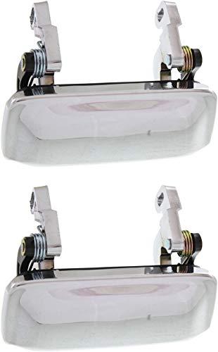 Garage-Pro Exterior Door Handle Set of 2 Compatible with MAZDA Pickup 2001-2010...