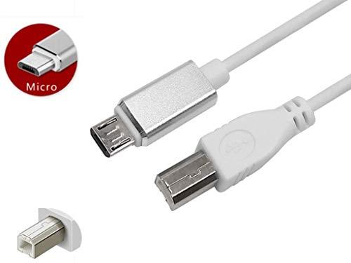 Micro usb maschio A USB 2.0 B MASCHIO CAVO OTG Dati Del Telefono Cavo Della Stampante Scanner Supporto smart Phone tablet 100cm