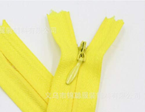 3# Nylon Invisible Zippers Coil Tailor Sewing Handmade Craft Garment Accessories,100pcs/color, A06