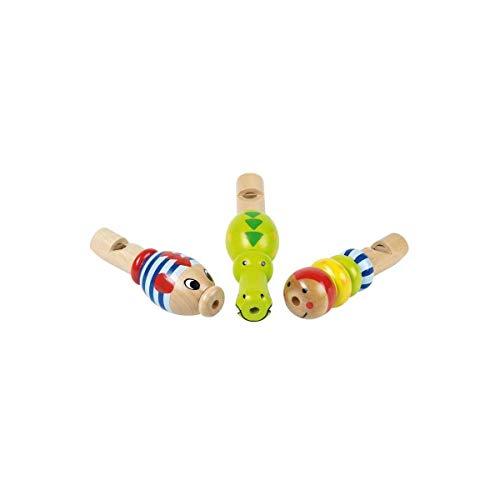 goki Mini-Flöte, Tierdesign, Zubehör für Instrumente, für Kinder, Mehrfarbig, 61972