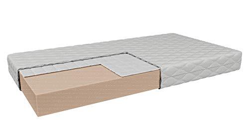Colchón infantil PIENZA de espuma con Buckwheat | para Baby Serie 4KIDS | H2/H2 – Medio | Altura: 9 cm | Cubierta antialérgico extraíble (70 x 140 cm)