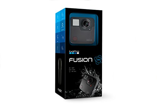 GoPro Fusion - 360 Waterproof Digital VR Camera with Spherical 5.2K HD Video 18MP Photos