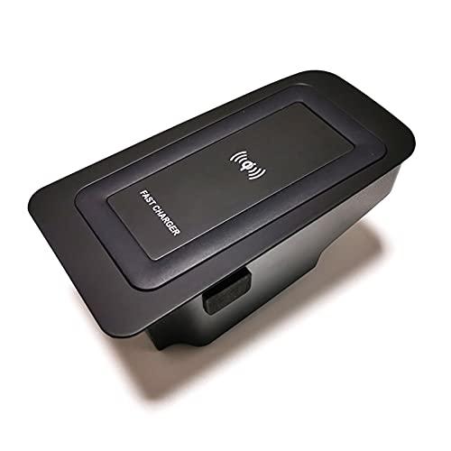 LakerBig 10W Bil QI Trådlös laddare Fit för Volvo XC90 S90 V90 XC60 V60 C60 2018 2019 2020 Laddningsplatta Trådlös Telefonladdare Tillbehör (Color Name : For V90 2016 2020)