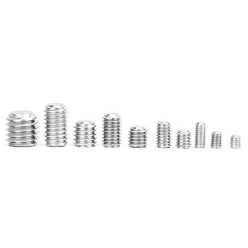 Tornillo de fijación, zócalo hexorizado hexagonal de acero conveniente hecho de acero inoxidable