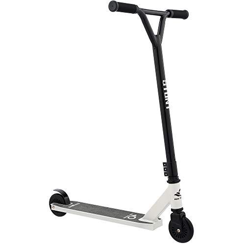Mad Wheels Stunt, 100 mm Räder Kickscooter, Lenksport Roller 360 für Tricks Scooter ab 9 Jahren, leichtes Alu Deck, ABEC-9-Lager