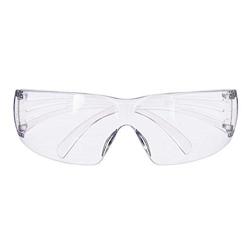 3M™ SecureFit™ SF201AS Occhiali di protezione, lente trasparente in PC (AS)