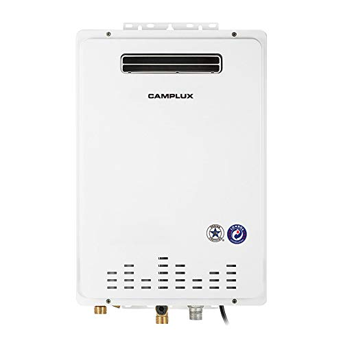 6.86 GPM Pro Outdoor Natural Gas Tankless Water Heater by Camplux
