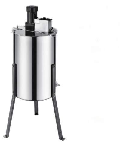 GIMS Extractor de Miel eléctrico 3 Marco de Acero Inoxidable de Acero Inoxidable Spinner de manivela de Miel de Miel de Abeja Equipo de Apicultura