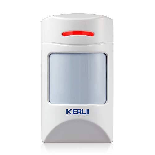 KERUI Detector de Sensor de Movimiento PIR Inmune para Mascotas de 12 kg para el Sistema de Alarma Antirrobos de Seguridad para el Hogar KERUI - 433MHz