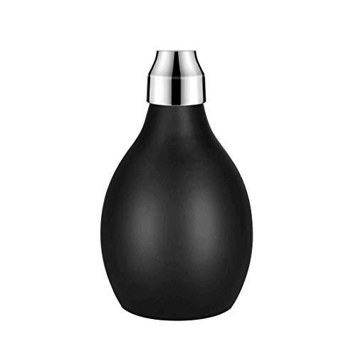Botella de Spray en Polvo, 3.38 oz / 100 ml, aplicador de Fibra de Cabello con soplador de Polvo de Silicona Recargable para Peluquero, champú seco, Fibra de Cabello