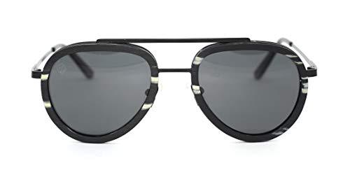 Óculos de Sol de Madeira e Metal Lepke, MafiawooD