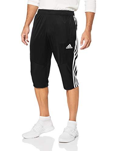 adidas Herren TIRO19 3/4 PNT Sport Trousers, Black/White, M