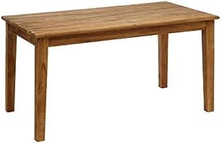 Tousmesmeubles Table de Repas rectangulaire Bois recyclé - Darke - L 160 x l 90 x H 77 - Neuf
