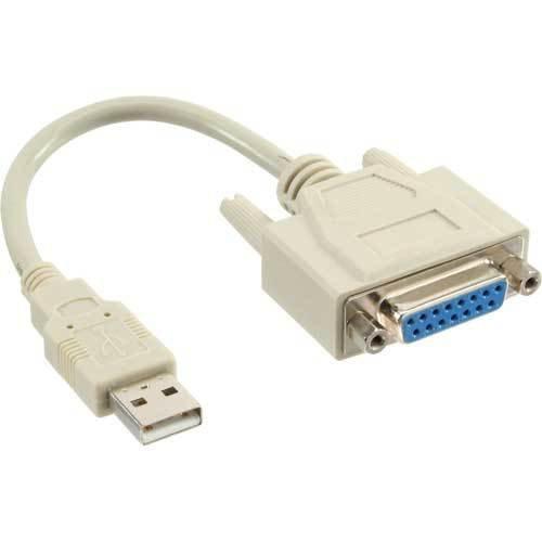 Inline USB Adapter Kabel Stecker A auf 15pol Buchse