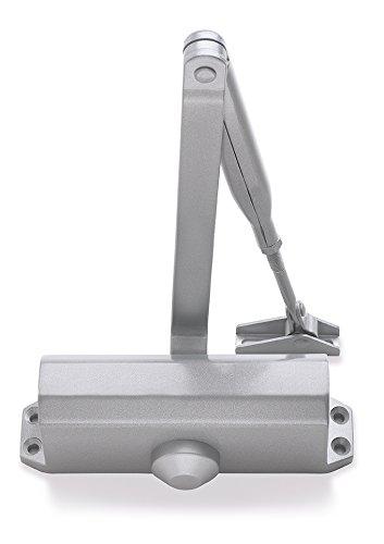 Briton 121CE.SES tamaño 3CE Mecanismo cierrapuertas fijo para puertas contra incendios–plateado