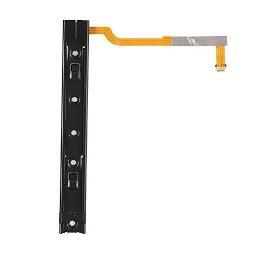 Tosuny Reemplazo Profesional de riel Deslizante para Switch, 3.54x0.43x0.20 Pulgadas Pieza de fijación Universal de Cable Largo/Corto, Reemplazo de riel Deslizante para Switch