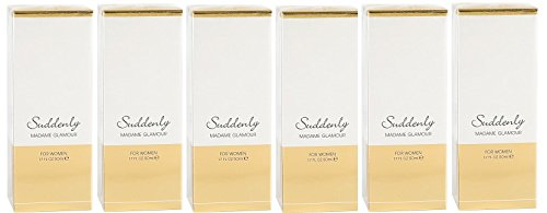 5 x Suddenly madame Glamour, Eau de parfum, 5 x 50 ml