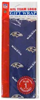 baltimore ravens wrapping paper