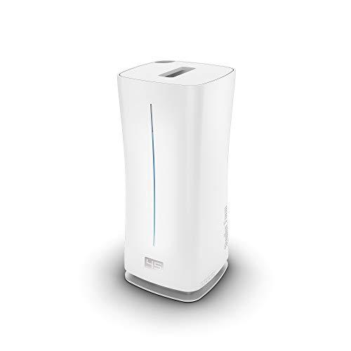 Stadler Form Luftbefeuchter Eva little, platzsparender Ultraschall-Vernebler, für Räume bis 50 m², mit Hygrostat und Auto Modus, weiss